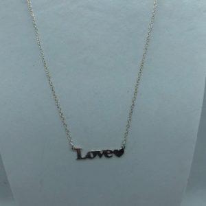 Collier argent 925 Love 04